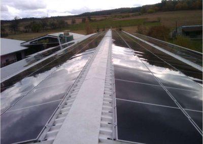 Výrobní hala 60 kWp, Lubná