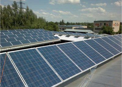 FVE 30 kWp - Sběrné suroviny Vysoké Mýto