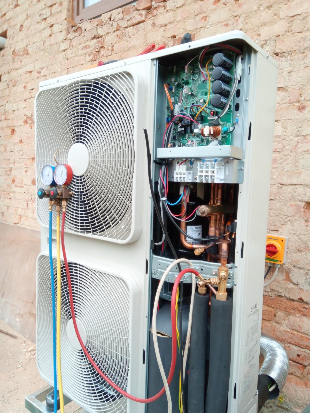 Instalace a zapojení tepelného čerpadla