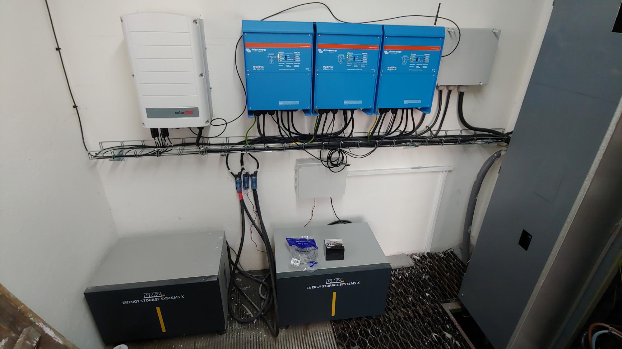 FVE 20 kWp s Akumulatory BMZ
