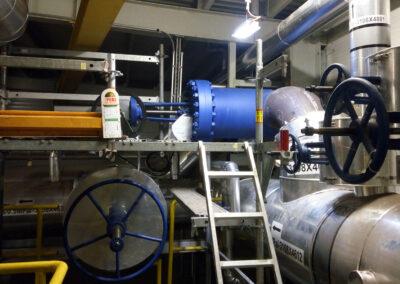 Zapojeni ovladani AUMA na parnim ventilu 0,5 MPa